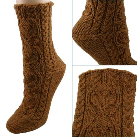 free knitting pattern aran socks knitted socks for everyone