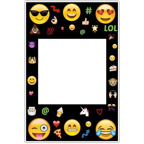 emoji social media selfie frame photo booth prop poster ebay