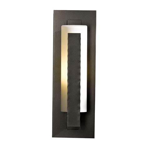 Outdoor Wall Sconce Buy The Forged Vertical Bar Outdoor Wall Sconce Small