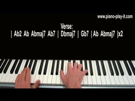 Tutorial Piano Joe Cocker | you are so beautiful piano tutorial joe cocker youtube