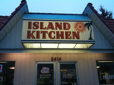 island kitchen fast food restaurant american
