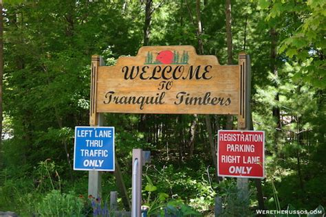 Door County Wisconsin Cgrounds by Tranquil Timbers Rv Cing Door County Wisconsin