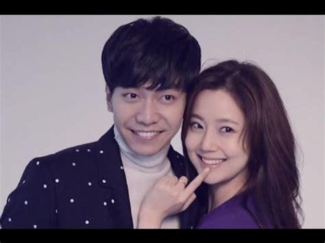 lee seung gi cute cute couple moon chae won and lee seung gi youtube