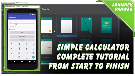android studio calculator layout how to create simple calculator in android studio for