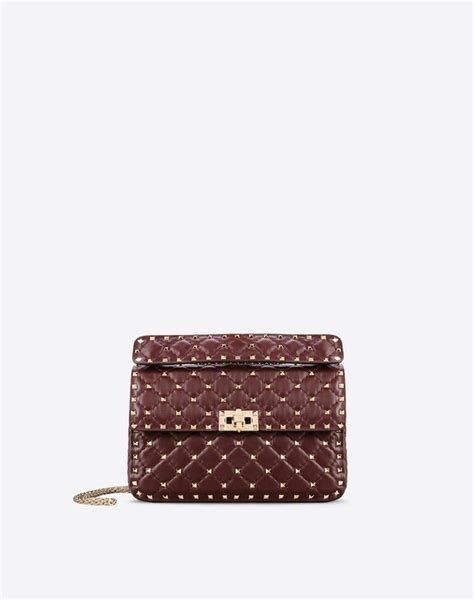 Bag Valentino Selempang Stud 2962 valentino garavani valentino garavani rockstud spike medium bag shoulder bags for