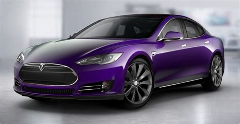 Tesla Violet Coming Soon Not A