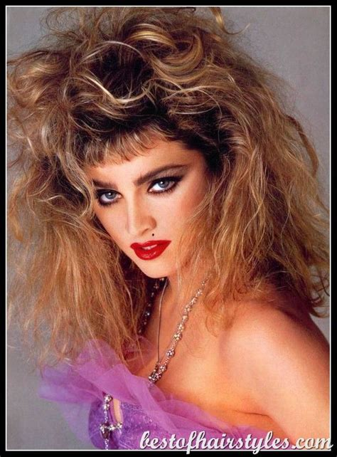 1980s hairstyles 1980s hairstyles madonna hair styles of a period