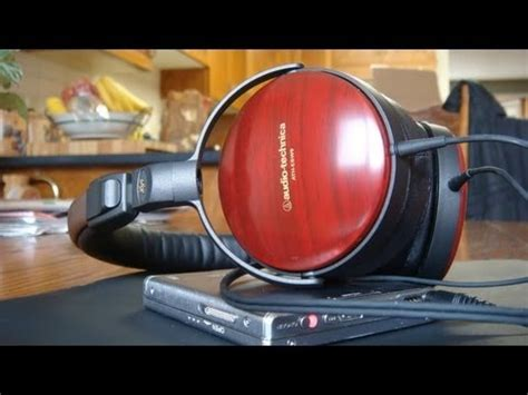 Ath Esw9 Sovereign Wood Headphones by Jeroblo Audio Technica Ath A900x Japanese Unboxing Doovi