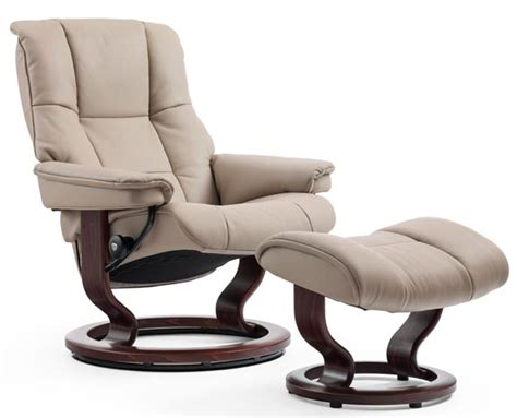 poltrone stressless leather recliner chairs stressless mayfair