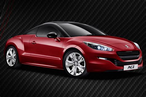 peugeot red peugeot rcz red carbon pictures details and uk prices evo