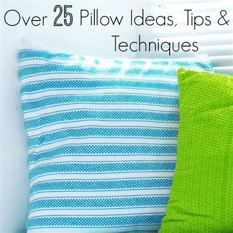 Pillow Techniques how to make pillows newton custom interiors