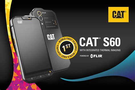 Caterpillar Cat Phone S60 caterpillar s60 announced as world s smartphone with