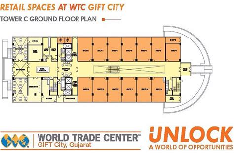 retail space floor plan wtc retail spaces shops at world trade center gift city