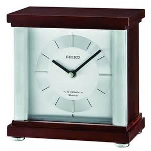 Small Contemporary Desk Clocks Rothesay Contemporary Desk Table Clock Qxw441blh