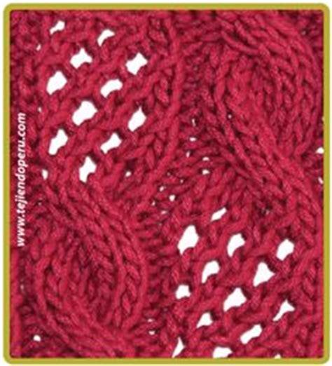 galeria de puntos 4 trenzas ochos cuerdas tejiendo per trenzas ochos o cuerdas tejidos en dos agujas o palillos