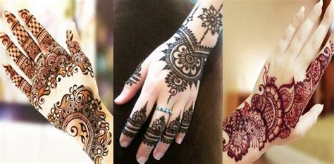 amazing hand mehndi designs gallery  latest collection