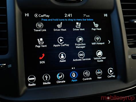 chrysler connect 2018 chrysler uconnect review back and forth mobilesyrup