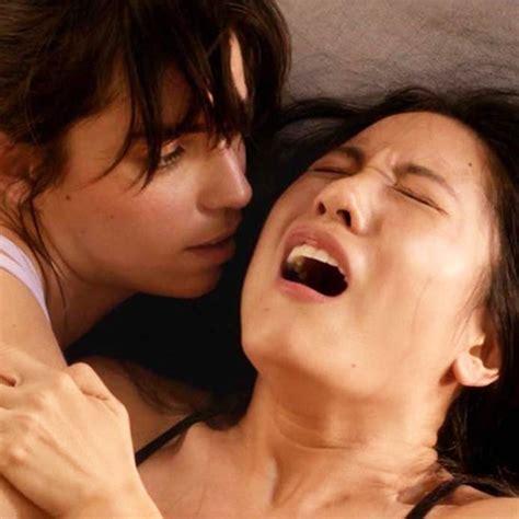 constance wu and angela trimbur lesbian fingering in the feels scandal planet