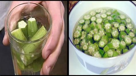 Okra Detox Water by Believe It Or Not But This Treats Diabetes Issues Used