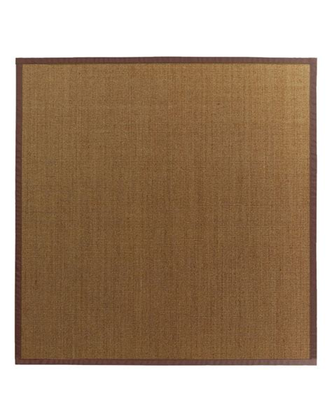 8 x 8 area rugs lanart rug sisal bound brown 39 8 ft x 8 ft