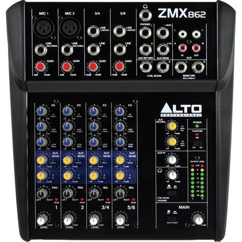 alto zmx 862 zephyr compact mixer dawsons