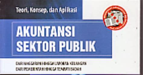 tesis akuntansi sektor publik toko buku rahma akuntansi sektor publik