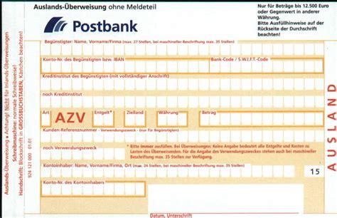 Post Schweiz Gebühren Brief Ausland Auslands 252 Berweisung Kosten Geb 252 Hren F 252 R 220 Berweisungen Ins