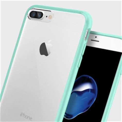 Spigen Iphone 7 Plus Ultra Hybrid Mint spigen ultra hybrid iphone 7 plus bumper mint green