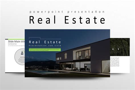 real estate presentation templates on creative market