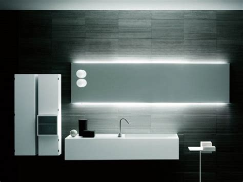 boffi bathroom stage back illuminated mirror frontal ls designed by