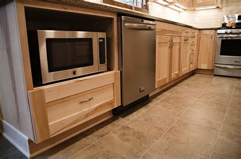 kitchen cabinets for microwave microwave in base cabinet kitchens design by cella
