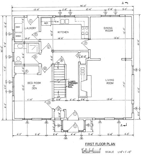 free architectural house plans house floor plans with dimensions single floor house plans