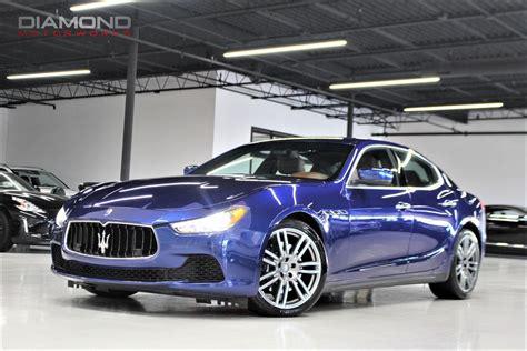 Maserati Ghibli Dealer by Used 2015 Maserati Ghibli S Q4 Lisle Il