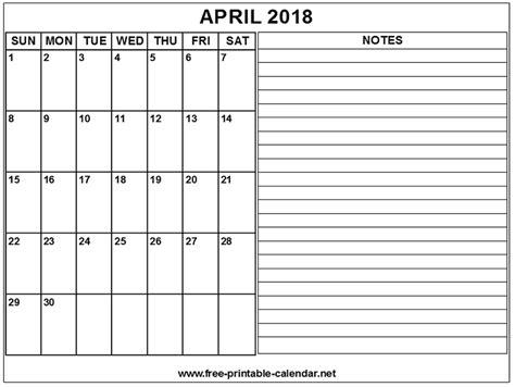 april 2018 calendar printable page printable calendar 2018 april print calendars