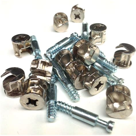 cam lock cabinet assembly timberfix torx wafer head sleeper fastener landscape