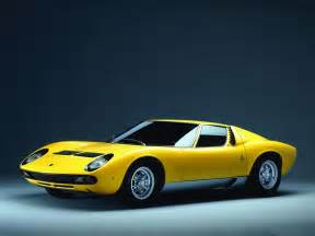 Lamborghini A Hd Car Wallpapers Lamborghini Miura Wallpaper