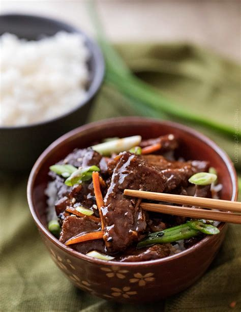 easy slow cooker mongolian beef recipe the chunky chef