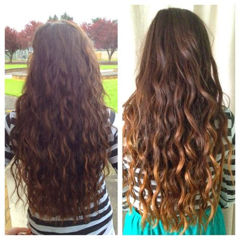 grow out highlights ombre look ombre grown out highlights ombre curls growing out hair