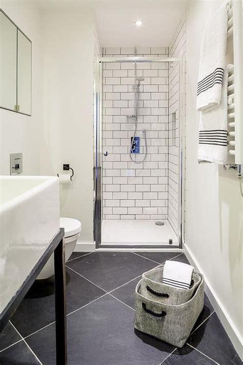 black diamond pattern bathroom floors contemporary