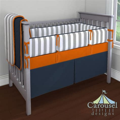 Orange And White Crib Bedding by 17 Best Images About Baby Nursery Ideals On