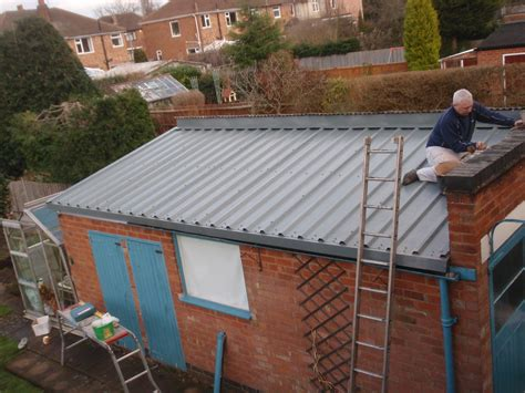 Replace Shed Roof by What To Do With Asbestos Roof