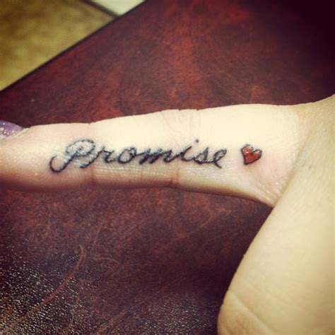 promise tattoo lovely and promise tattoomagz