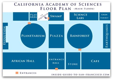 california academy of sciences floor plan academy of sciences san francisco a review