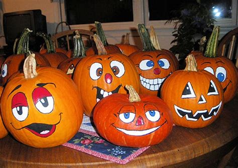 painted pumpkin ideas 40 and easy pumpkin painting ideas hobby lesson