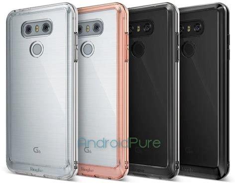 Lg G6 Casing Wadah Belakang Back Kasing Design 071 leak shows lg g6 with brushed metal design on back geeks news