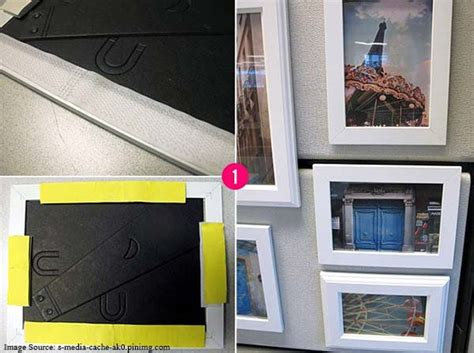 how to hang paintings without putting holes in the wall 10 great uses of velcro in home decorating