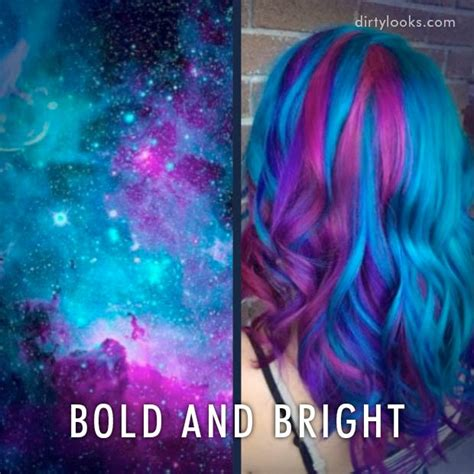 New Hair Trend: Galaxy Hair / Hair Extensions Blog   Hair