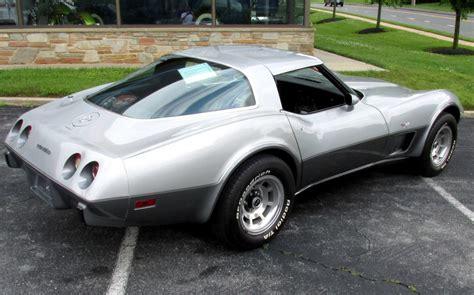 25th anniversary corvette ws 1978 corvette 25th anniversary
