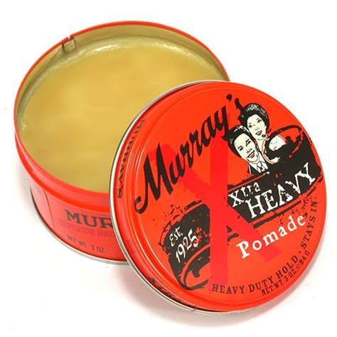 Pomade Murray Original best pomade for pomade hair reviews and styling tips
