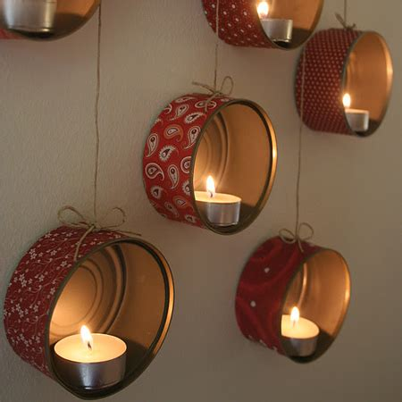 Diy Projects Home Decor by Home Dzine Craft Ideas Recycled Tins For Amazing Candle